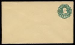 U.S. Scott # U 380/08, UPSS #1382a/14 1903 1c Franklin, blue green on amber - Mint (See Warranty)