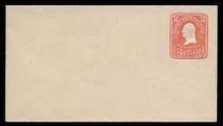U.S. Scott # U 385b/03, UPSS #1391a/14 1903 2c Washington, red on white - Mint (See Warranty)