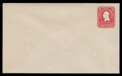 U.S. Scott # U 385/11, UPSS #1397/14 1903 2c Washington, carmine on white - Mint (See Warranty)
