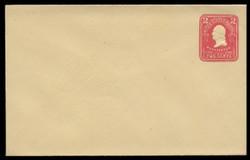 U.S. Scott # U 386/09, UPSS #1406/14 1903 2c Washington, carmine on amber - Mint (See Warranty)