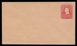 U.S. Scott # U 387/08, UPSS #1414/14 1903 2c Washington, carmine on oriental buff - Mint (See Warranty)
