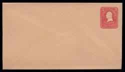 U.S. Scott # U 387/10, UPSS #1415/14 1903 2c Washington, carmine on oriental buff - Mint (See Warranty)