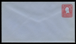 U.S. Scott # U 388/10, UPSS #1421/14 1903 2c Washington, carmine on blue - Mint (See Warranty)