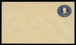 U.S. Scott # U 394/08, UPSS #1436/14 1903 5c Lincoln, blue on amber - Mint (See Warranty)