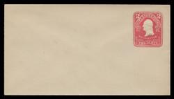 U.S. Scott # U 395/03, UPSS #1438/14 1903 2c Washington, recut, carmine on white - Mint (See Warranty)