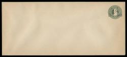 U.S. Scott # U 495b/23, UPSS 3134/24, 1925 1 1/2c on 3c (U420b) Franklin, green on white, Die 3 - Mint (See Warranty)