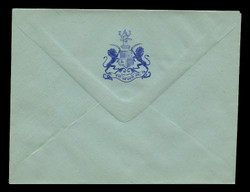 INDIA, Stationery, The Princely State of Dalippur - Blue On Blue