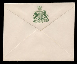 INDIA, Stationery, The Princely State of Dalippur - Green On White