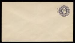U.S. Scott # U 446/13, UPSS 2738/19, 1920-1 2c (Type 1 Sch) on 3c (U436a) Washington, dark violet on white, Die 1 - Mint (See Warranty)