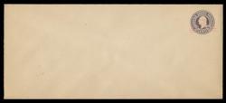 U.S. Scott # U 447/23, UPSS 2740/20, 1920-1 2c (Type 2 Sch) on 3c (U436a) Washington, dark violet on white, Die 1 - Mint (See Warranty)