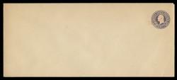 U.S. Scott # U 447b/23, UPSS 2741/19, 1920-1 2c (Type 2 Sch) on 3c (U436c) Washington, dark violet on white, Die 6 - Mint (See Warranty)