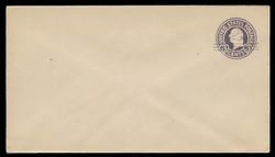 U.S. Scott # U 448/13, UPSS 2753/20, 1920-1 2c (Type 2 Sch) on 3c (U436a) Washington, dark violet on white, Die 1 - Mint (See Warranty)