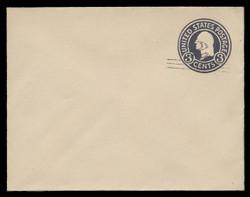 U.S. Scott # U 448/14, UPSS 2754/20, 1920-1 2c (Type 2 Sch) on 3c (U436a) Washington, dark violet on white, Die 1 - Mint (See Warranty)