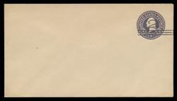 U.S. Scott # U 448c/10, UPSS 2766/19, 1920-1 2c (Type 2 Sch) on 3c (U436d) Washington, dark violet on white, Die 7 - Mint (See Warranty)