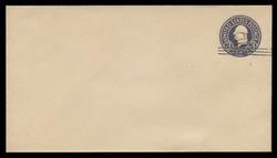 U.S. Scott # U 448c/13, UPSS 2768/19, 1920-1 2c (Type 2 Sch) on 3c (U436d) Washington, dark violet on white, Die 7 - Mint (See Warranty)