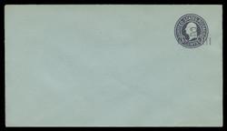 U.S. Scott # U 461/13, UPSS 2906/20, 1920-1 2c (Type 3 Sch) on 3c (U439a) Washington, dark violet on blue, Die 1 - Mint (See Warranty)
