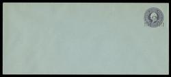 U.S. Scott # U 461/21, UPSS 2907/19, 1920-1 2c (Type 3 Sch) on 3c (U439a) Washington, dark violet on blue, Die 1 - Mint (See Warranty)