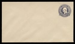 U.S. Scott # U 468/08, UPSS 2945/20, 1920-1 2c (Type 4 Sch) on 3c (U436a) Washington, dark violet on white, Die 1 - Mint (See Warranty)
