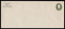 U.S. Scott # U 532a/23, UPSS # 3287a/43, 1950 1c Franklin, Die 2 - Mint (See Warranty)