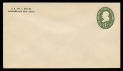 U.S. Scott # U 532b/10, UPSS # 3290a/45, 1950 1c Franklin, Die 3 - Mint (See Warranty)