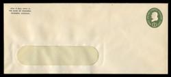 U.S. Scott # U 532b/23-WINDOW, UPSS # 3299a/43, 1950 1c Franklin, Die 3 - Mint (See Warranty)