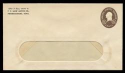 U.S. Scott # U 535/13-WINDOW, UPSS # 3306/45 1952, 1½c Washington - Mint (See Warranty)