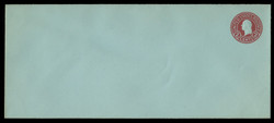 U.S. Scott # U 432h/21, UPSS #2452/29 1915-32 2c Washington, carmine on blue, Die 8 - Mint (See Warranty)