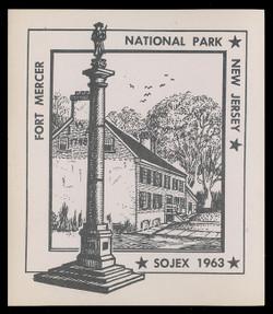 SOJEX 1963 (28th) Stamp Show, Fort Mercer National Park