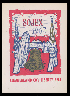 SOJEX 1965 (30th) Stamp Show, Cumberland County's Liberty Bell
