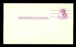 U.S. Scott # UX  48  T2, 1962 4c Abraham Lincoln, Precancelled - Mint Postal Card (See Warranty)