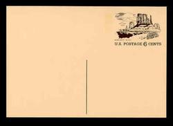 U.S. Scott # UX  62, 1972 6c Tourism - Monument Valley - Mint Postal Card