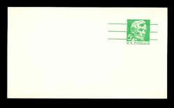 U.S. Scott # UX  55, 1968 5c Abraham Lincoln, Precancelled - Mint Postal Card