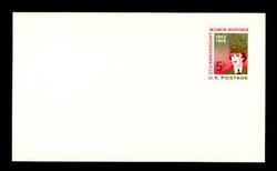 U.S. Scott # UX  56, 1968 5c Women Marines, 25th Anniversary - Mint Postal Card