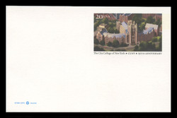U.S. Scott # UX 280, 1997 20c City College of New York, 150th Anniversary - Mint Postal Card