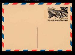 U.S. Scott # UXC 12, 1972 9c Tourism - Grand Canyon - Mint Postal Card