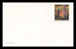 U.S. Scott # UX 381, 2002 23c Carlsbad Caverns National Park - Mint Postal Card