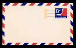 U.S. Scott # UXC  9a 1969 8c Stylized Eagle, Tagged - Mint Postal Card