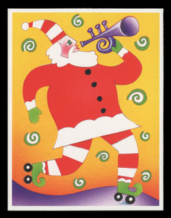 U.S. Scott # UX 401-4, 2003 23c Christmas, Music Makers - Mint Picture Postal Card Set of 4