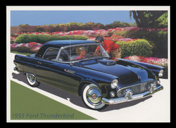 U.S. Scott # UX 440-4, 2005 23c Sporty Cars - Mint Picture Postal Card Set of 5