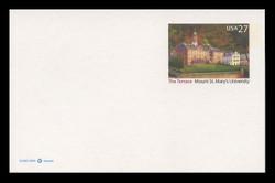 U.S. Scott # UX 533, 2008 27c Mount St. Mary's University - Mint Postal Card