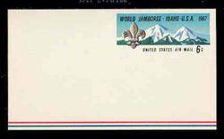 U.S. Scott # UXC  7 1967 6c World Buy Scout Jamboree - Mint Postal Card