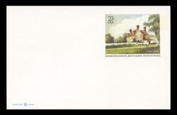 U.S. Scott # UX 406, 2004 23c Harriton House, Bryn Mawr, Pennsylvania - Mint Postal Card