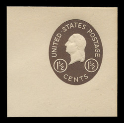 U.S. Scott # U 535, 1952 1½c Washington - Mint Full Corner