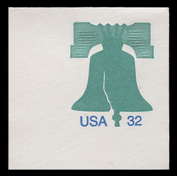 U.S. Scott # U 632 1995 32c Liberty Bell - Mint Full Corner