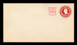 U.S. Scott # U 537, 1958 2c (U429) + 2c Washington, Die 1 - Mint Envelope, UPSS Size 10