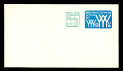 U.S. Scott # U 562, 1971 6c (U555) + 2c White House Conference on Youth - Mint Envelope, UPSS Size 12