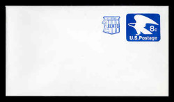 U.S. Scott # U 566, 1973 8c (U557) + 2c Eagle - Mint Envelope, UPSS Size 12