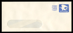 U.S. Scott # U 566, 1973 8c (U557) + 2c Eagle - Mint Envelope, UPSS Size 23-WINDOW