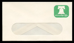 U.S. Scott # U 567 1973 10c Liberty Bell - Mint Envelope, UPSS Size 12-WINDOW