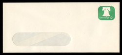 U.S. Scott # U 567 1973 10c Liberty Bell - Mint Envelope, UPSS Size 23-WINDOW